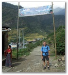 Day 9 - Leaving the Annapurna National Park at Naya Pul