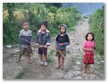 Junior Maoist road block on day 2