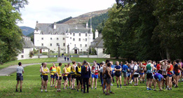 The Start at Traquair House