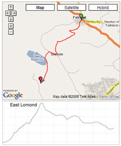 Route for Leg 1