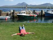 Jura from Port Askaig on Islay