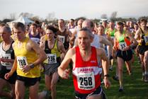 Start of men's race