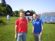 Chris & David before the start