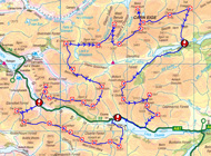 Spyke's planned 31 Munro route