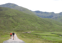 Start of Leg 2 heading to South Glen Shiel ridge