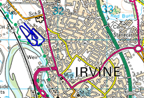 Irvine Masters race location