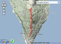 Day 3 - Ruta de los Volcanes at EveryTrail