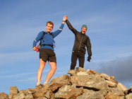 Summit of Beinn Resipol, with Manny Gorman