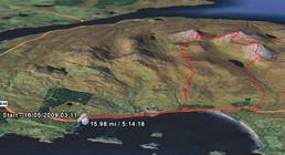 Jura stage, 16 miles