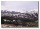 Looking towards Crianlarich and Ben Lui
