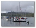 Oban Yacht Club before the race