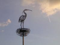 Carmyle Heron by Andy Scott