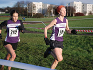 Claire Thompson and Jo Jeffries