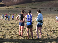 5th, 4th and 3rd ladies - Claire, Sharon and Jill