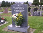 My mother's gravestone
