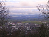 View from Penrith Beacon towards Ullswater