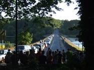 Causeway across Rivington Reservoir