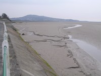 Looking towards Arnside and Arnside Knott
