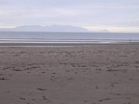 Life's a beach - looking across to Arran