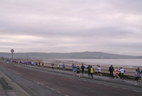 The Stragglers - looking across Ayr Bay