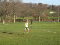 First 4 ladies at end of 1st lap - Freya Murray leading