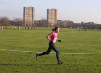 Kate Jenkins on 1st lap
