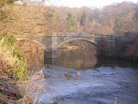 Fairholm Bridge across Avon Water