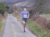 Brian Marshall - race winner