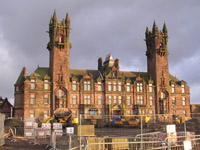 Gartloch Mental Hospital being converted to flats