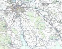 Dumfries Marathon Route