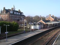 Dumfries Railway Station