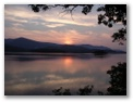 Sunset across Derwentwater