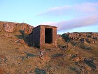 The famous concrete bunker