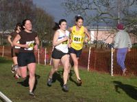 Clare Ward, Eilidh Wardlaw and Val Houston