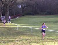 Iona Robertson leads Lesley Chisholm