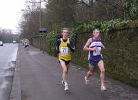 Fraser on 1st lap