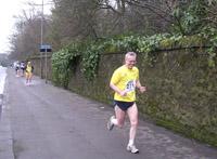 Ian on 1st lap