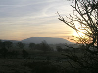 Pendle Hill after the race