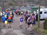 Borrowdale - Johnny Bland and Mike Fanning starting Leg 3