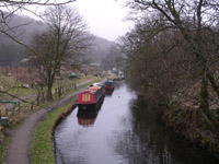 The Rochdale Canal at start of Leg 3