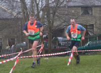Bowland Vets - Chris and Tim at the finish