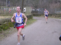 Bingley - Ian Holmes and Robb Jebb, fastest pair on Leg 2