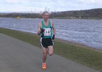 Glen Stewart - race winner